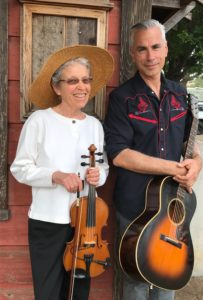 santa barbara old time fiddle duo